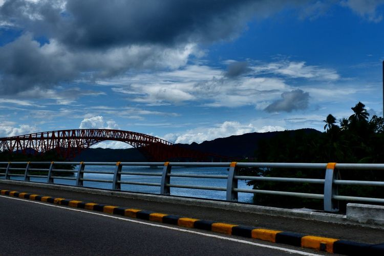 The longest bridge in the Philipines Sky Cloud - Sky Railing Bridge - Man Made Structure Connection Water Transportation