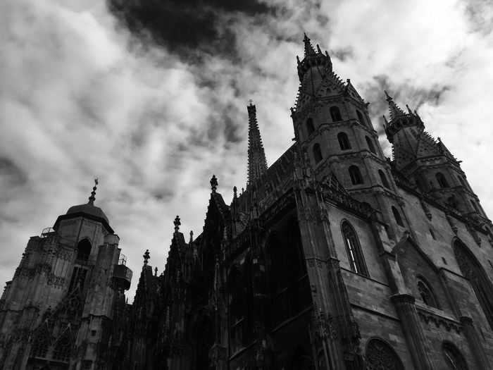 Sublime. Stephansdom Cathedral Vienna Europe Art Escaping Timeless Walking Around Blackandwhite EyeEm Best Shots Eyeemphotography History