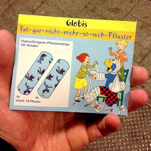 Die Schuhe scheuern. Doch gottlob hab ich Globi-Pflaster. #schweizfan Schweizfan