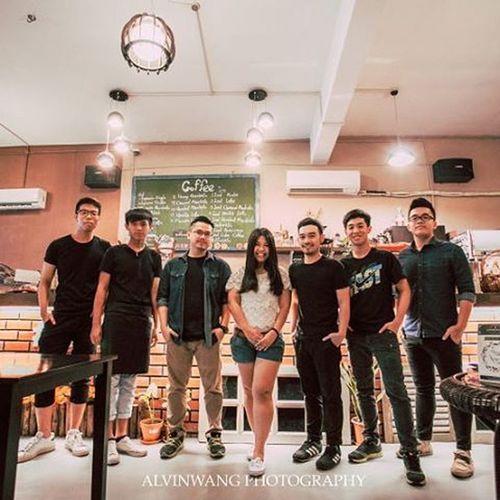 Thank you all for being such a great team💪💪💪Coffeeinloft Coffeelover Batupahat Bpcafe TeamworkMakesTheDreamWork