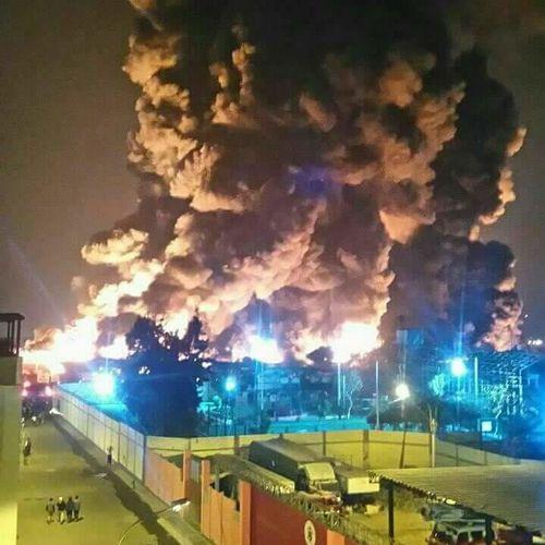 Incendio Pamolsa Callao