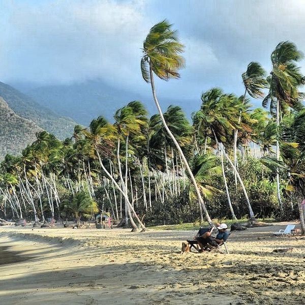 Esto mis amigos se llama Venezuela / this place is called Venezuela my friends Choroni Playita Playa Beach Beaches Surfing Surf