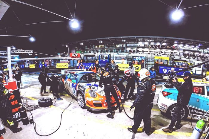 24h Race Race Racing Boxenstop Race Day Nurburgring Rtr  Axelborisab Nightphotography