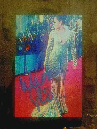 I didnot take this pic of Jlo Jenniferlopez Jennifer Lopez . My ex's friend did at Theoscars Oscars Oscars!! , but i did get it signed Autograph Celebritycrush Celebrity Elegant