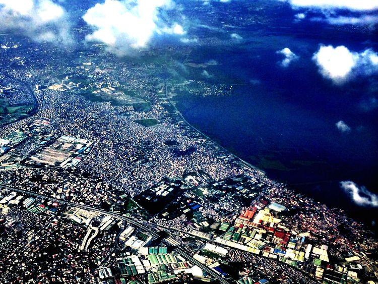 Rizal province and the Laguna De Bay From An Airplane Window Travel Memories Hello World Taking Photos Eye4photography  Urban Landscape Urban 4 Filter EyeEmBestPics