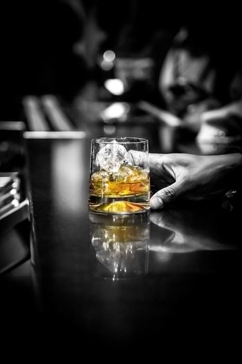 Whiskey in