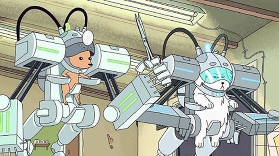 Rick and Morty - Robot Dogs RickAndMorty Roboterdogs Dogs Roboter