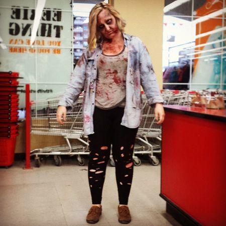 @donnarose15 Valuevillage Costumeconsultant Thriftortreat Halloweenideas halloween thriftortreat zombie