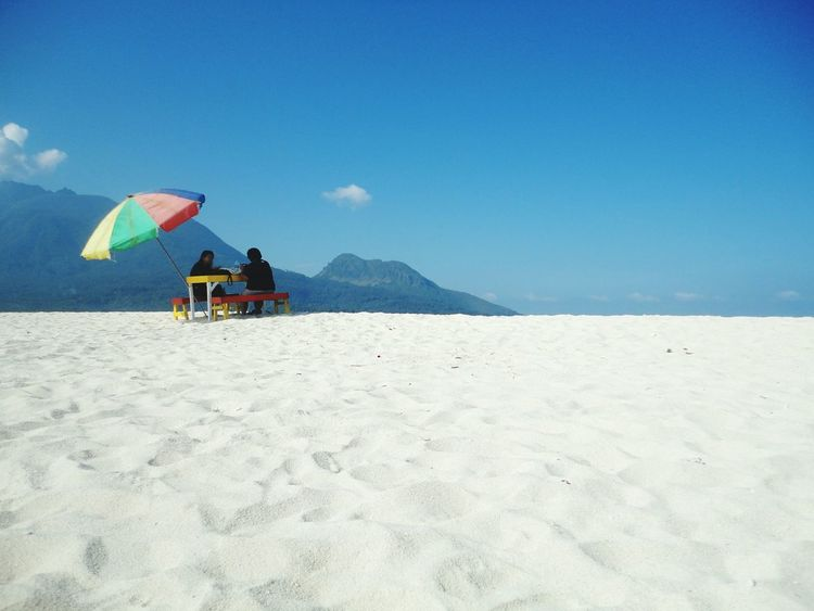 On an island in the sun. Ocean View Ocean Outdoors Beauty In Nature Beach White Sand Beach Beach Life Beach Umbrella Sky And Clouds Sky Day EyeEm Best Shots EyeEm Nature Lover Camiguin White Island Philippines Travel Destinations Vacation An Eye For Travel