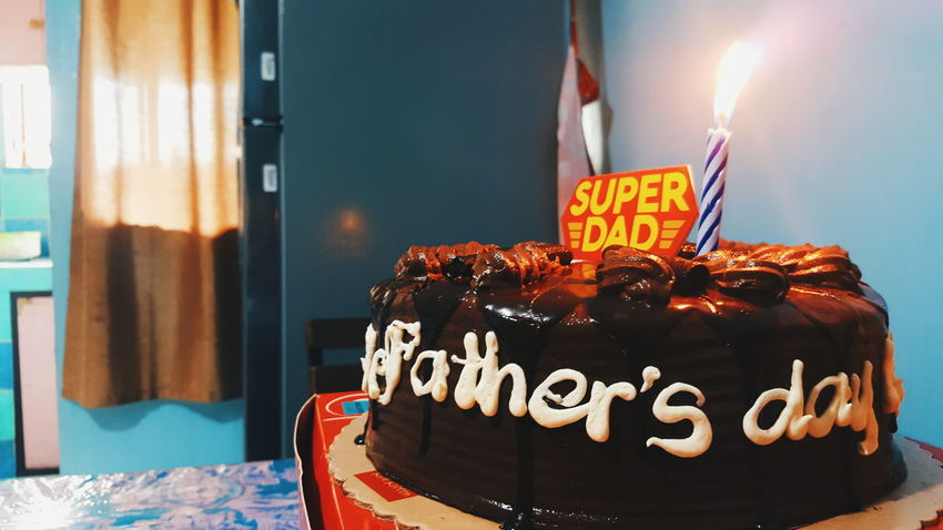 Eyeem Philippines Cake Chocolate Cake <3 Father's Day Happy Father's Day
