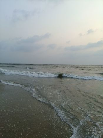 Beach Nature Sand Sea Sky Water Outdoors Wet Wetland Beauty In Nature Scenics No People Day