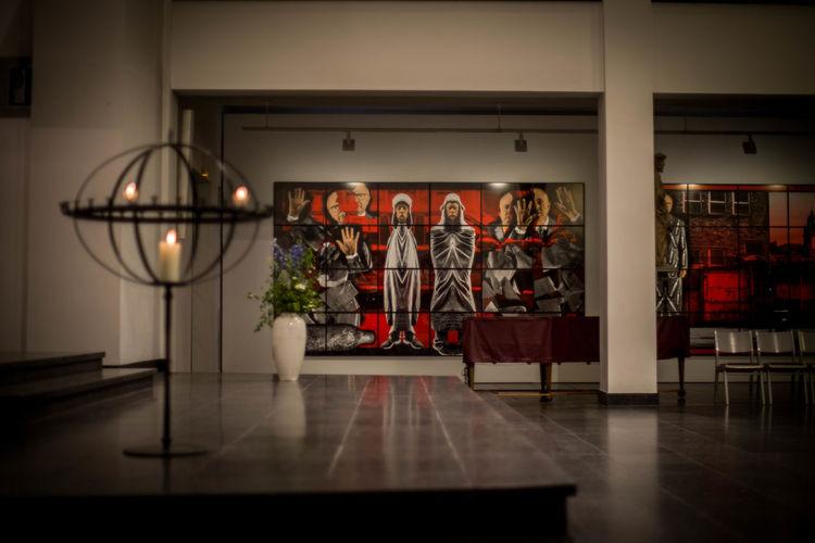 EUPHORIA Gilbert & George Luther Und Die Avant Garde Scapegoating Pictures St. Matthäus-Kirche