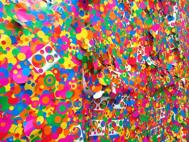 草間彌生 わが永遠の魂 Yayoi Kusama Myeternalsoul Colorful Enjoying Life