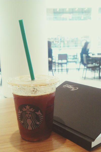 3.27 점심시간에 혼자만의 여유를! Enjoying Life Starbucks Coffee Time