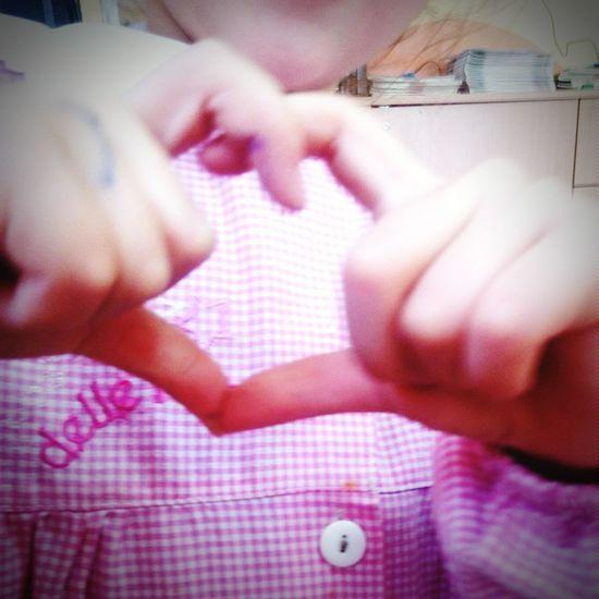 Quando un bimbo ti dice quanto ti vuole bene... Scuola❤ Love ♥ Piccoliamoricrescono Childeren