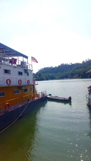 Lake of Banding in Malaysia Water Nautical Vessel Lake Outdoors Day Sky No People Nature City ship Boat