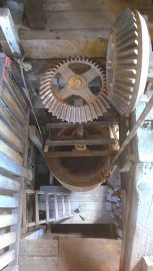 Architecture Close-up Cogs And Parts Day Gears Grist Mill Indoors  Machinery Close Up No People