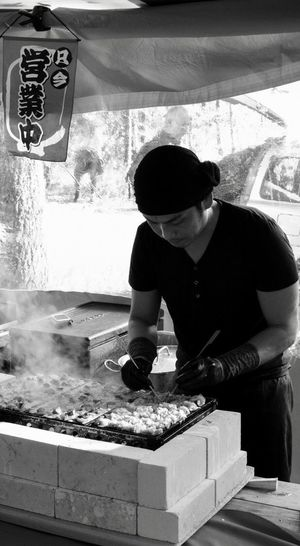 Hello World Check This Out Japanese Food Streetphotography Chef Hardwork Blackandwhite Fujifilm X-t20 EyeEm Gallery EyeEm Best Shots EyeEmBestPics EyeEm Selects EyeEm Best Edits Festival What Do You Think?