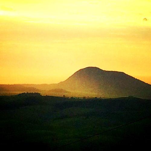 Monte Aghá visto da minha casa em Tapuio Tapuio