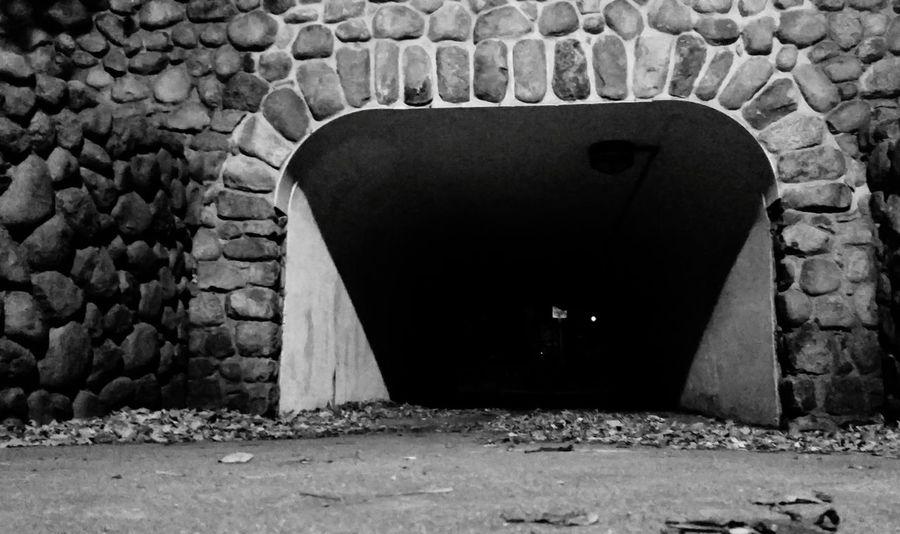 EyeEm Best Shots - Black + White Blackandwhitephotography Black & White Tunnel Urban Urbanphotography Downtown Chicago Chicago Adventure Night Photography Night Nightshot Night City Shadows & Lights Brick Wall Brickwork  Spooky Halloweentime Halloween EyeEm Halloween_Collection Halloween2015 October