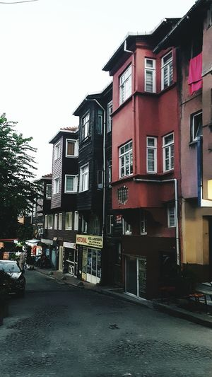 Travel.. as much as you can🛫💜 Outdoors Window City No People Sky Built Structure Building Exterior Building Colorful Color Photography Photography Turkey Istanbul Secondeyeemphoto Colours Buildingstyles Building Design Day City Street Istanbul Street Istanbullife