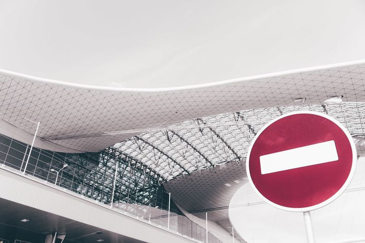 Stop right there! EyeEmNewHere Red Architecture Close-up Stop Sign Building First Eyeem Photo The Architect - 2018 EyeEm Awards