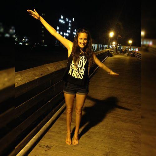 I really had fun 🇺🇸🇺🇸👌💫 Surfside Beach Pier Flying Night Having Fun :)