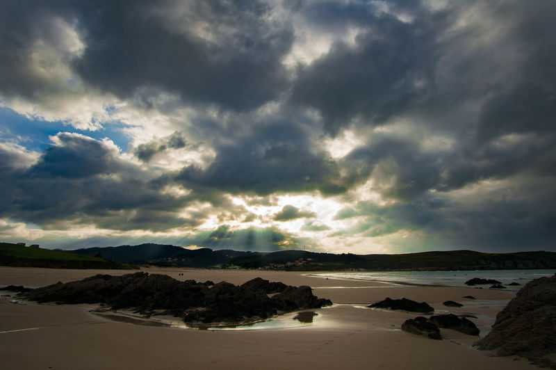 The beach Dramatic Sky Nature Water Storm Cloud Sea EyeEmNewHere Pantin Surf Pantinbeach Pantinclassicgaliciapro Pantin Spain