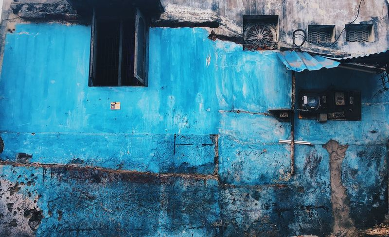 Streetphotography Brokenwall Indianphotography Localphotography Bluewall Photooftheday Photography Themes Photos Around You IPhoneography IPhone