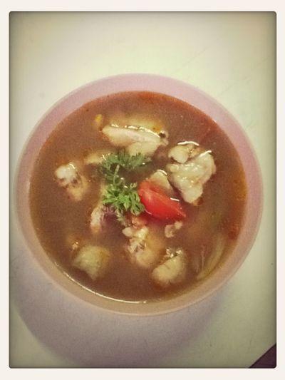 Thai Food Tom Yum Kai