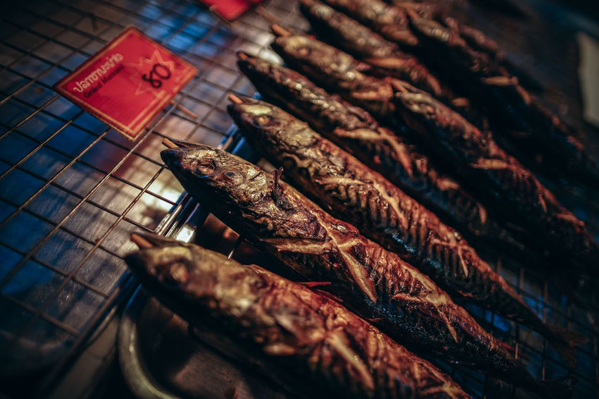 fish grilled and smoked