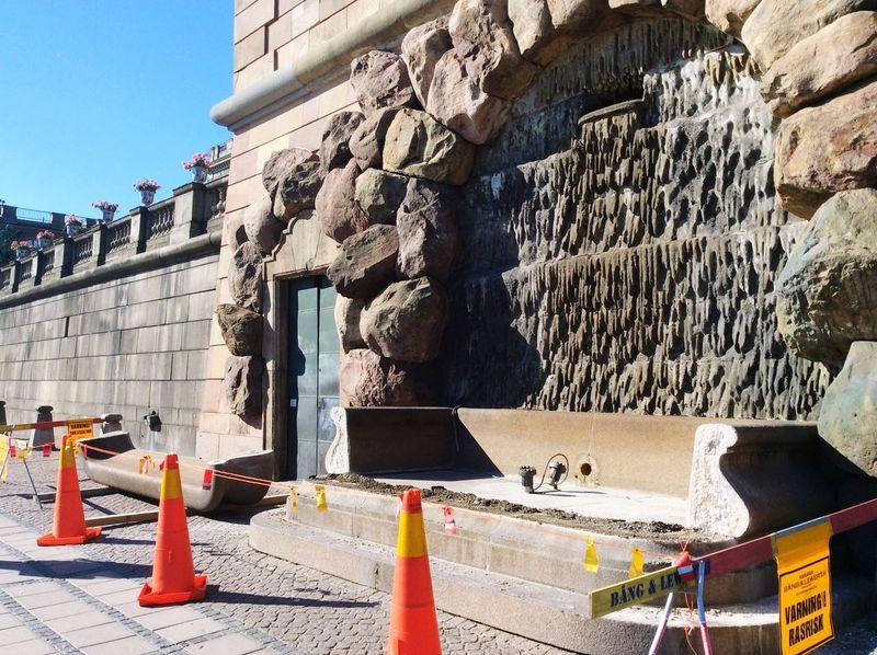 Refurbishing Castle Stockholm Construction Summer
