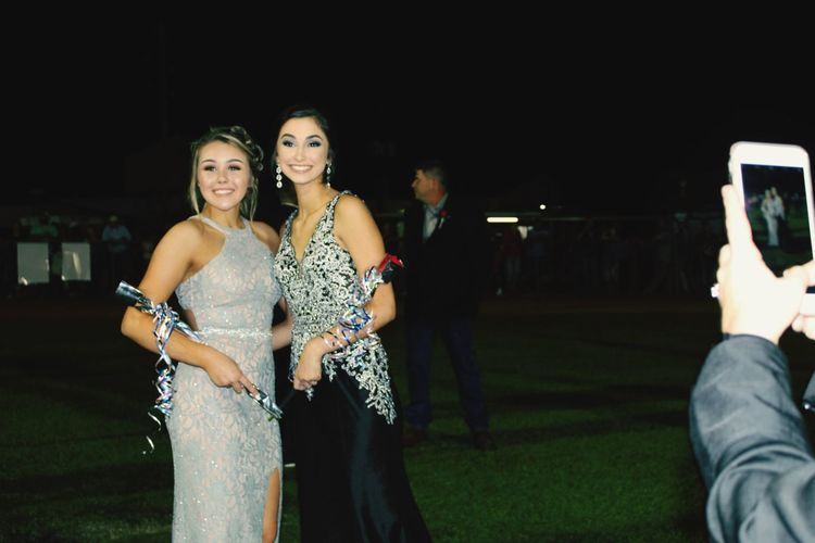 Beautiful Freshmen Homecoming EyeEm Selects Night Group Of People Togetherness Women Real People Three Quarter Length Photography Themes Incidental People Young Adult Nightlife Friendship Leisure Activity Event Lifestyles Young Women Fashion Adult Emotion People Wireless Technology
