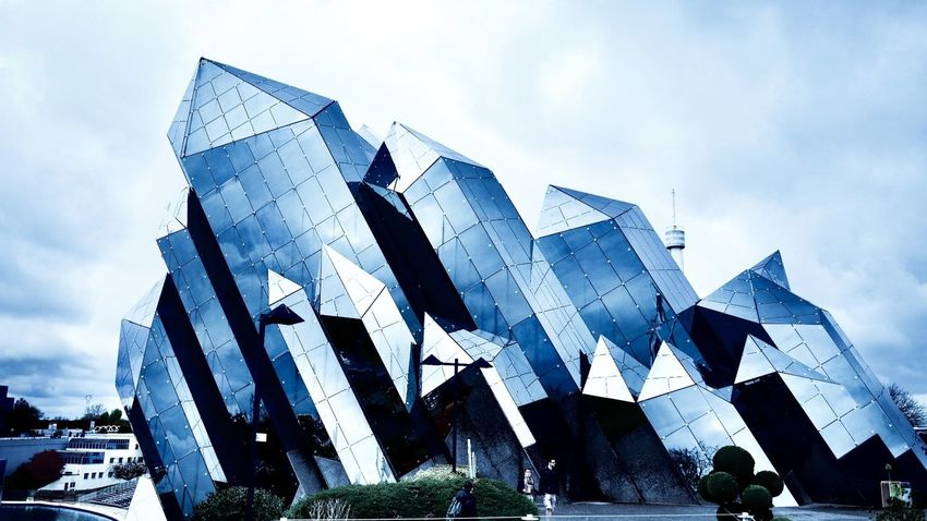Architecture Building Exterior Outdoors Day France Technopark Futuristic Steel Desing Your Ticket To Europe The Graphic City
