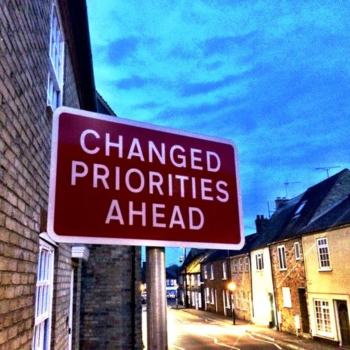 #priorities Information Sign Road Sign Text