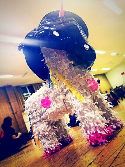Indoors  Adult Arts Culture And Entertainment Close-up The Week On EyeEm Piñata Gift Unicorn Darth Vader Star Wars Dark Side Dodgeball Weho Dodgeball Star Whores Celebration Trophy MVP Candy Unicorn Pinata Funny Silly Spoof Joke Mask Nerd