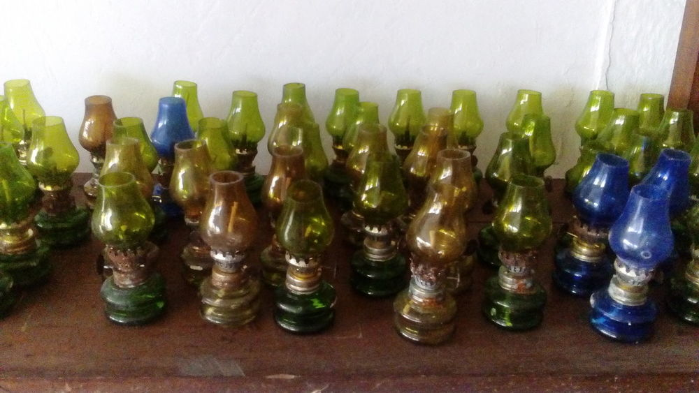 Beautifully Organized Vintage Miniatures Quinque Gasoline Lamp Lamps Patterns