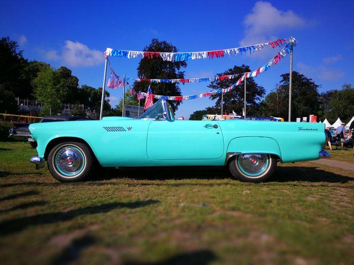 EyeEm Selects Car No People Tbird Thunderbird USclassic Classiccar