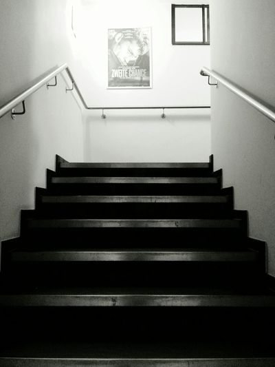 Will there ever be a second chance for me? - MAinLoveWithYou Missing You In The Night at Cinema Stairs Independent  Movies Monochrome Black And White Black & White - 05.05.2015