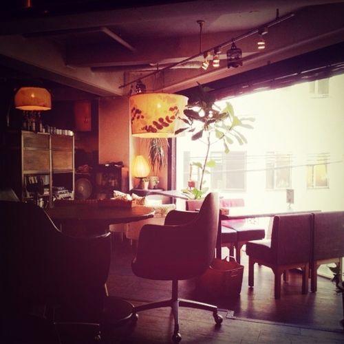いい感じのカフェです。Relaxing