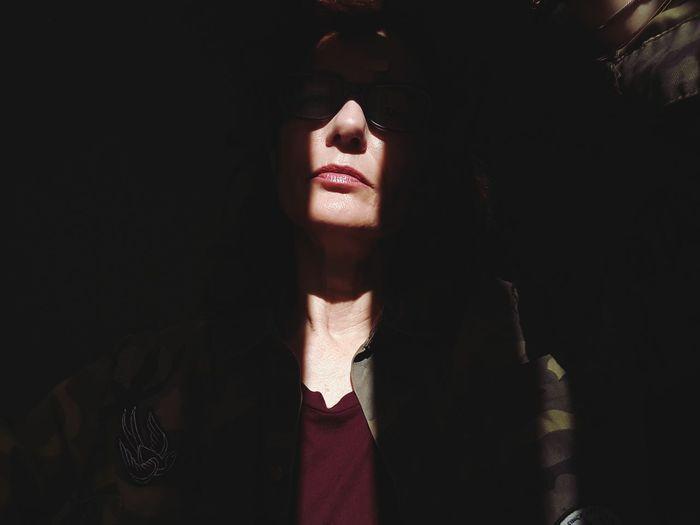 light Sun Sunlight Face Faces Of EyeEm Portrait Woman Of EyeEm Woman Portrait Woman Who Inspire You Light And Shadow Light Beautiful Woman Women Black Background Shadow Females Beauty Human Face Fantasy Beautiful People Human Lips Lipstick