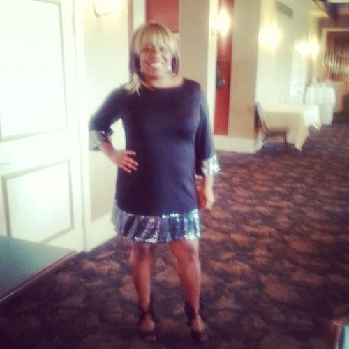 At the Fincastle country club for the 20th year church anniversary Confident  WOG Banquetpic Ifeelbeautiful
