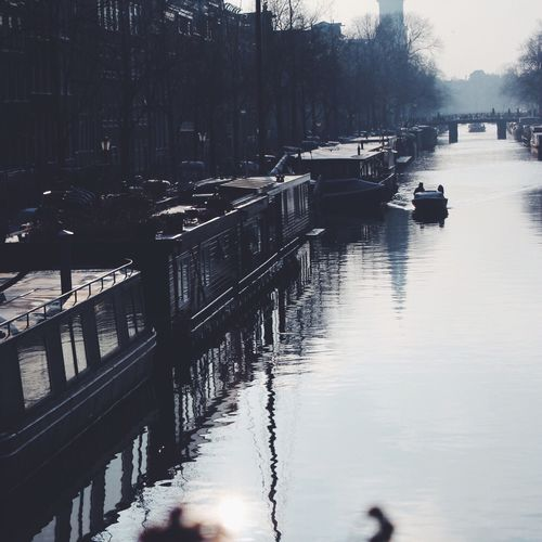 Amsterdam in Winter. Amsterdam Urban Water VSCO Cam Netherlands Outdoors Weekend Activities Showcase: February Vacations Enjoyment Smoke Weed Drei Your Amsterdam