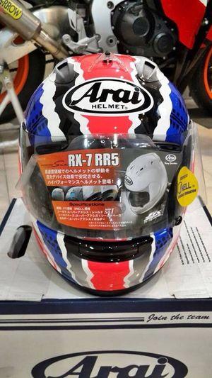 Arai RX-7 RR5 Doohan Series Bikers Jridersjakarta SafeYourHead SafetyRiding #WorldChampion #MotoGP #Racing #Automotive