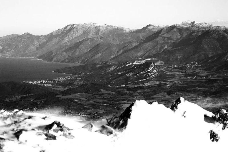 Corsica Snow ❄ Winter Wind Neige Neige❄ Corsica Cold Cold Temperature Nebbiu Day Sky