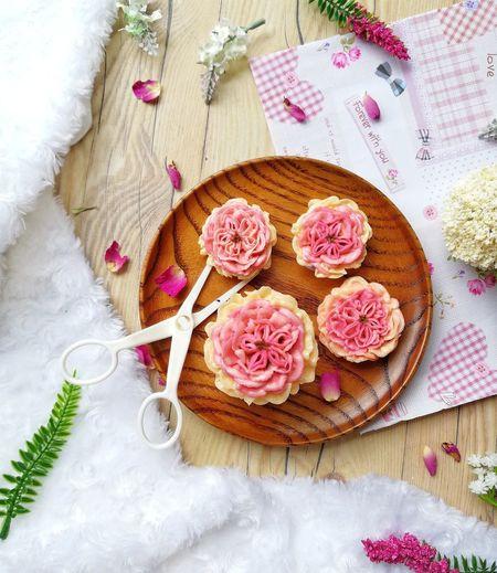 Korean flower Flower Cake Korean Flower Cake Deco Buttercream Buttercream Flower Floral Wreath