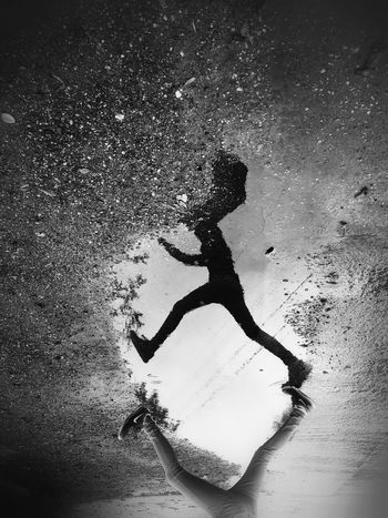 California Rain Puddle Street Reflection California EyeEm Best Shots Bw_collection Shootermag Blackandwhite Reflection Rain Fine Art Photography