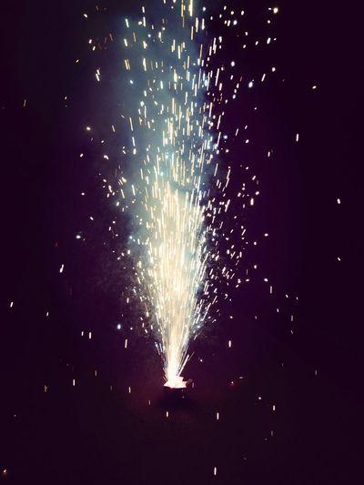 Fireworks Having Fun Fun Fireworks