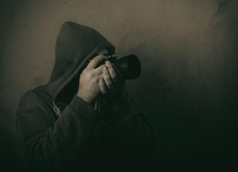Headshot Hood - Clothing Hooded Shirt Leisure Activity One Person Photographer Photooftheday Real People Studio Shot