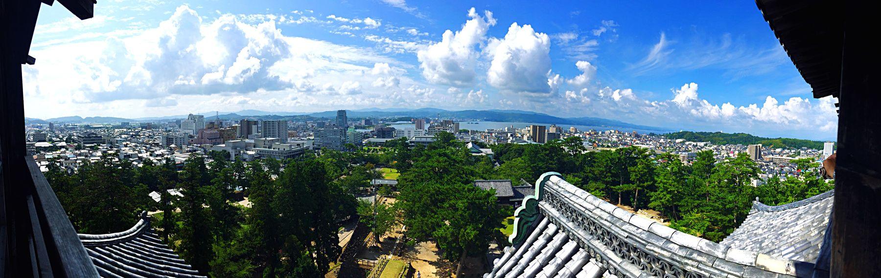 松江城から見た景色 松江城 Castle Scenery Scenery Shots